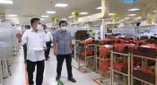 Ban Quản lý Khu Kinh tế kiểm tra phương án tái sản xuất tại huyện Cần Giuộc