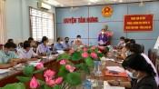 HĐND tỉnh giám sát về công tác quản lý và thực hiện quy hoạch trên địa bàn huyện Tân Hưng