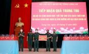 Bộ Tư lệnh Quân khu 7 trao 500 phần quà cho thiếu nhi Long An có hoàn cảnh khó khăn do ảnh hưởng dịch Covid-19