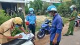 Vừa bảo đảm trật tự, an toàn giao thông, vừa phòng, chống dịch Covid-19
