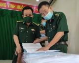 Giám sát việc thực hiện nhiệm vụ đột phá tại đồn Biên phòng Cửa khẩu Quốc tế Bình Hiệp