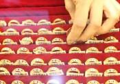 Giá vàng trong nước không duy trì được đà tăng
