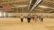 Phó Chủ tịch UBND tỉnh - Nguyễn Minh Lâm kiểm tra phương án phục hồi sản xuất, kinh doanh tại Bến Lức, Cần Giuộc