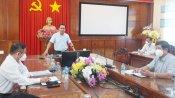 Bí thư Tỉnh ủy kiểm tra công tác phòng, chống dịch Covid-19 tại huyện Bến Lức