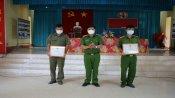 Tân Hưng khen thưởng đột xuất cá nhân trong công tác phòng, chống tội phạm