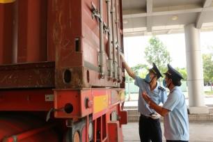 Hàng hóa lưu thông qua Cửa khẩu Quốc tế Bình Hiệp dễ dàng, thuận lợi