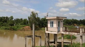 Mực nước ở các huyện đầu nguồn đang tăng