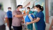 Tỉnh đoàn Long An tổ chức chương trình 'Tiếp sức tuyến đầu', 'Túi quà an sinh' tại huyện Đức Hòa