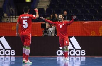 """Futsal World Cup 2021: Tây Ban Nha vào tứ kết, Iran thắng trận """"không tưởng"""""""