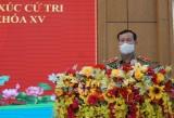Cử tri huyện Cần Giuộc, Châu Thành, Tân Trụ: Quan tâm nhiều đến đời sống xã hội