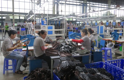 Long An's export turnover grows positively