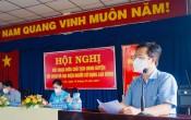 Chủ tịch UBND huyện Bến Lức đối thoại với công nhân lao động và đại diện người sử dụng lao động