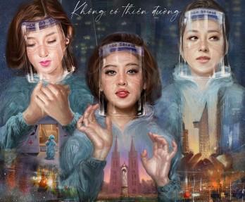 Hoa hậu Jennifer Phạm, á hậu Huyền My đóng phim về cuộc chiến chống Covid-19