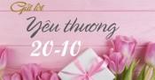Những lời chúc ngọt ngào, ý nghĩa dành tặng vợ, người yêu trong dịp 20/10