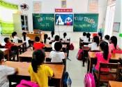 Học sinh ở địa bàn cấp độ dịch 1, 2 được đi học trực tiếp