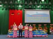 Bà Nguyễn Thị Tuyết Nhung tái đắc cử chức Chủ tịch Hội Liên hiệp Phụ nữ Việt Nam huyện Tân Thạnh khóa X, nhiệm kỳ 2021 - 2026