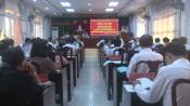 Kiến Tường: Hội nghị Ban Chấp hành Đảng bộ thị xã lần thứ 7, nhiệm kỳ 2020 - 2025