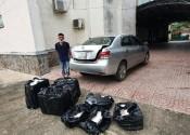 Bắt quả tang đối tượng vận chuyển gần 3.000 gói thuốc lá ngoại nhập lậu